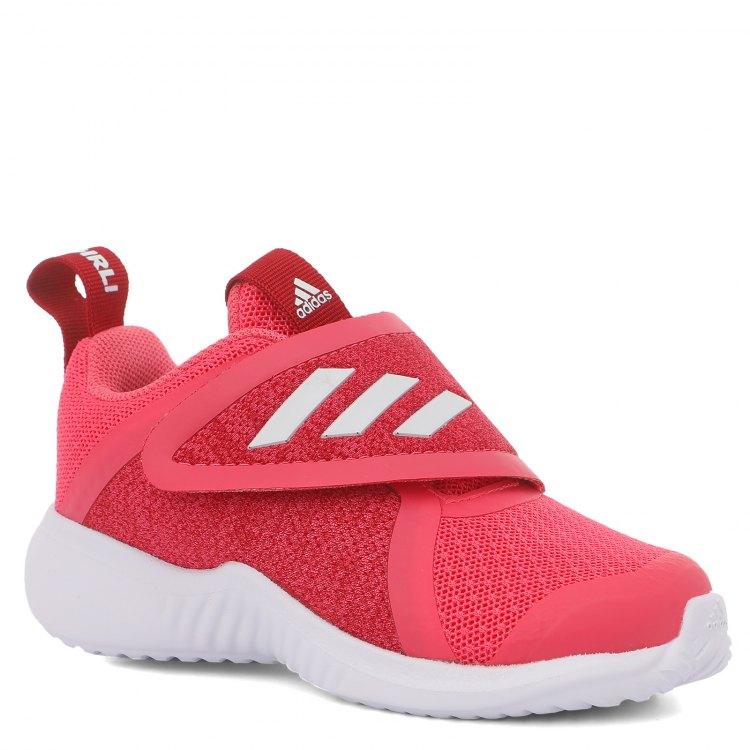 Купить FORTARUN X CF_2086107, Кроссовки для девочек Adidas, цв. красно-розовый, р.24, Детские кроссовки