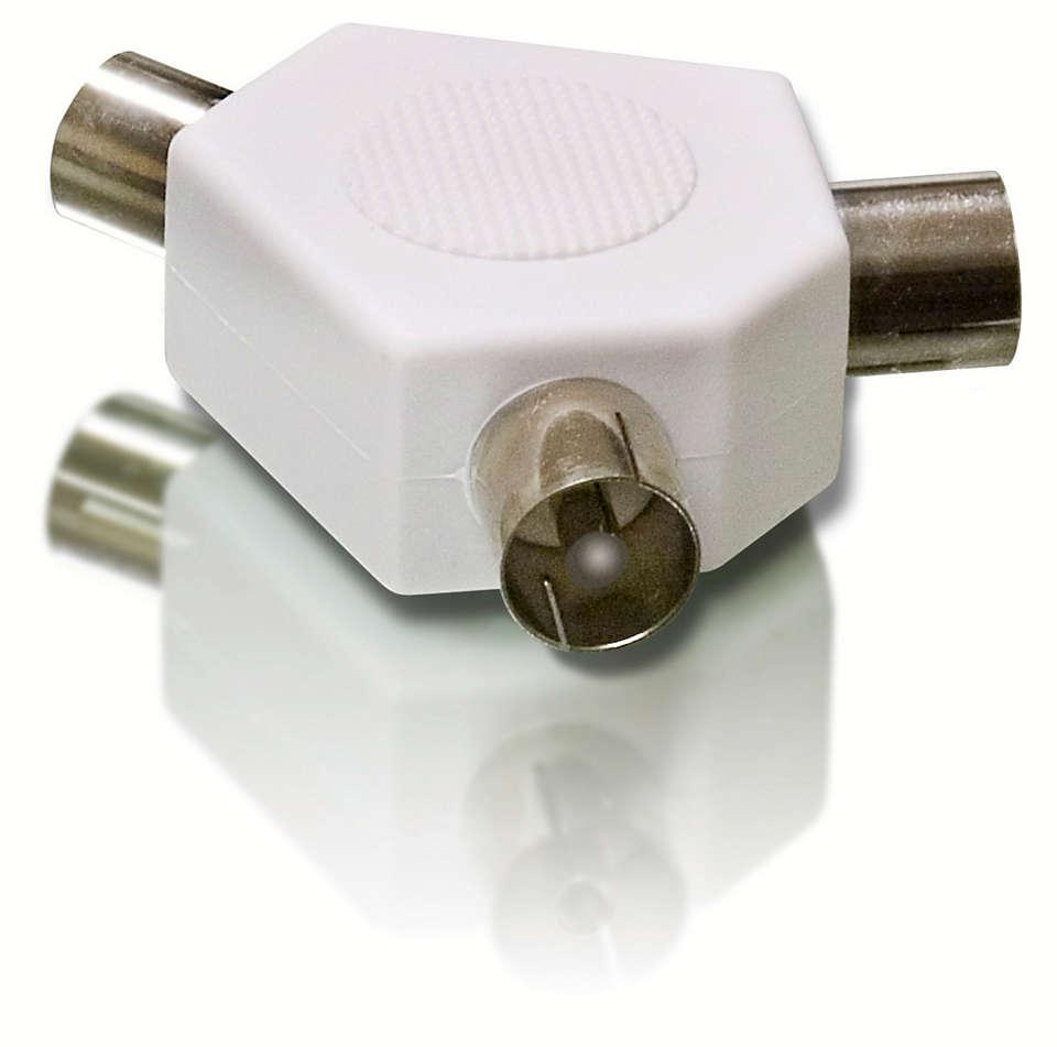 TV разветвитель Philips SWV2556W/10