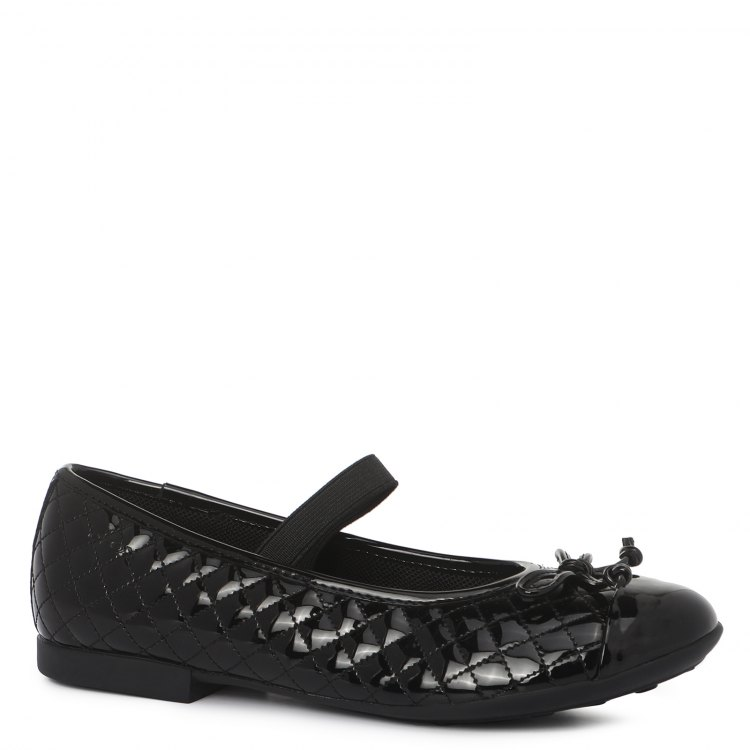 J5455B_2090139, Балетки для девочек Geox, цв. черный, р.36, Детские туфли  - купить со скидкой