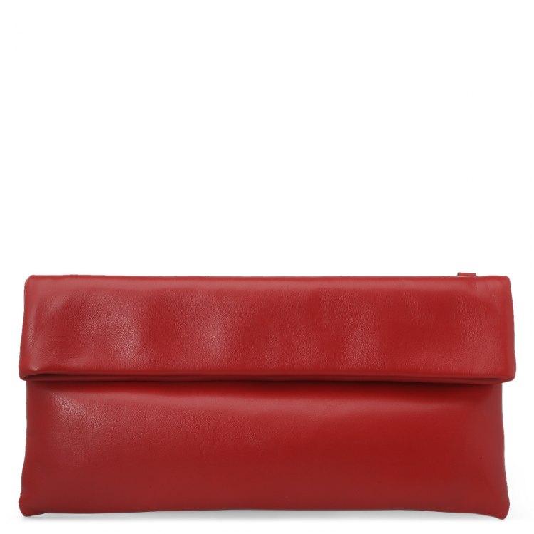Клатч женский красный GIANNI CHIARINI 5235