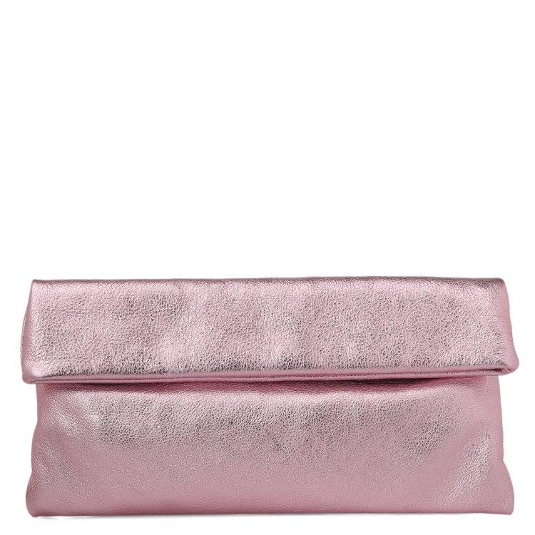 Клатч женский розовый GIANNI CHIARINI 5235