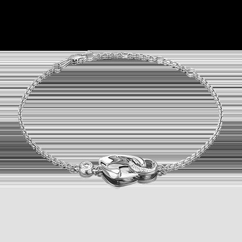 Браслет из золота с топазом PLATINA jewelry 05-0704-00-201-1120