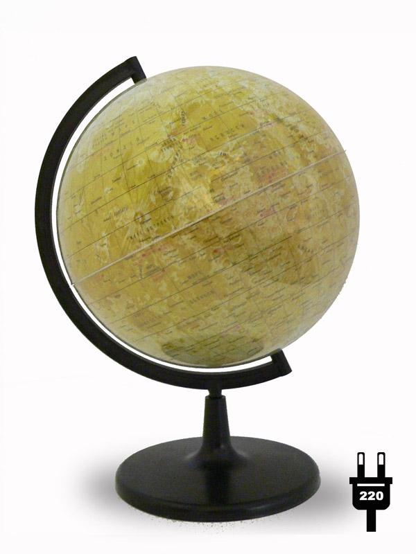 Глобус Луны с подсветкой d=21, арт. 0128