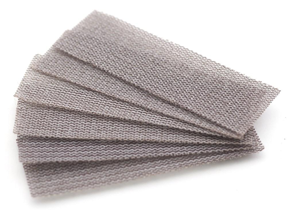 Купить Jas Набор шлифовальной сетки на липучке P320 P400 P600 30x90 мм 6 шт.,