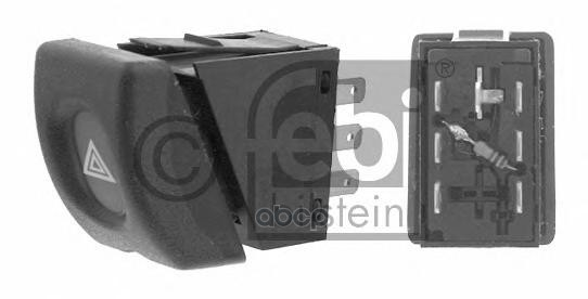 выключатель Аварийной Сигнализации Opel Combo 94 01/Corsa