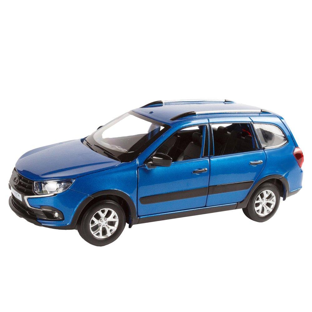 Купить Машинка металлическая ТМ Автопанорама LADA GRANTA CROSS синий 1:24 JB1251205,
