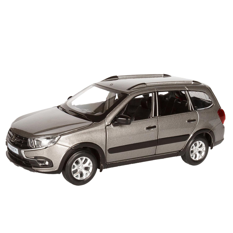 Купить Машинка металлическая ТМ Автопанорама LADA GRANTA CROSS серый 1:24 JB1251206,