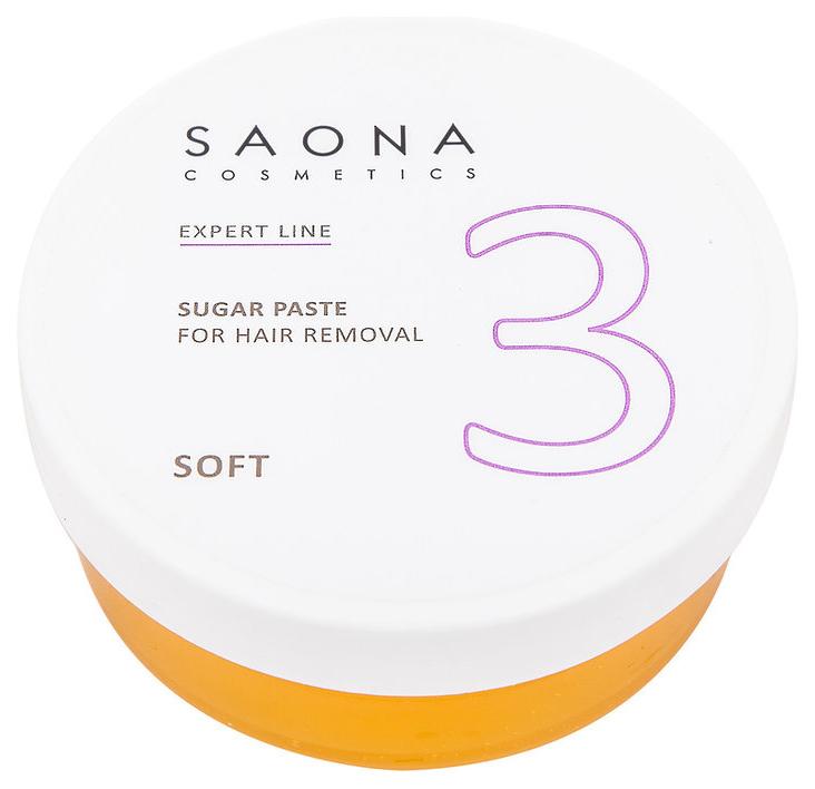 Сахарная паста Saona Cosmetics для депиляции Soft