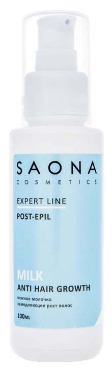 Молочко замедляющее рост волос Saona Cosmetics