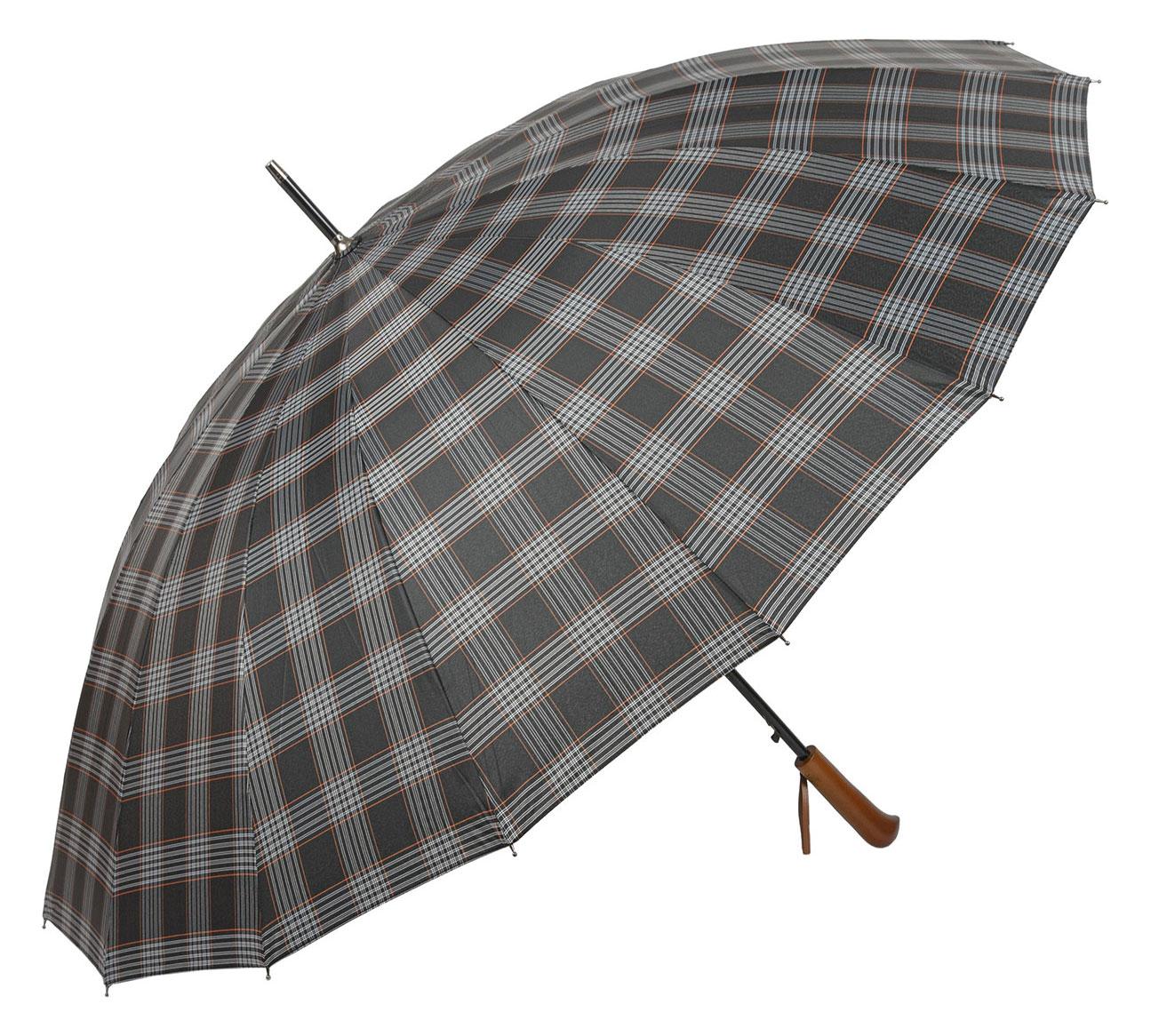 Зонт мужской Sponsa 3528-4-SLYW-M черный