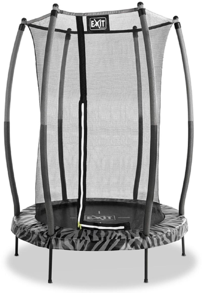 Батут Тигги 140 см черный с защитной