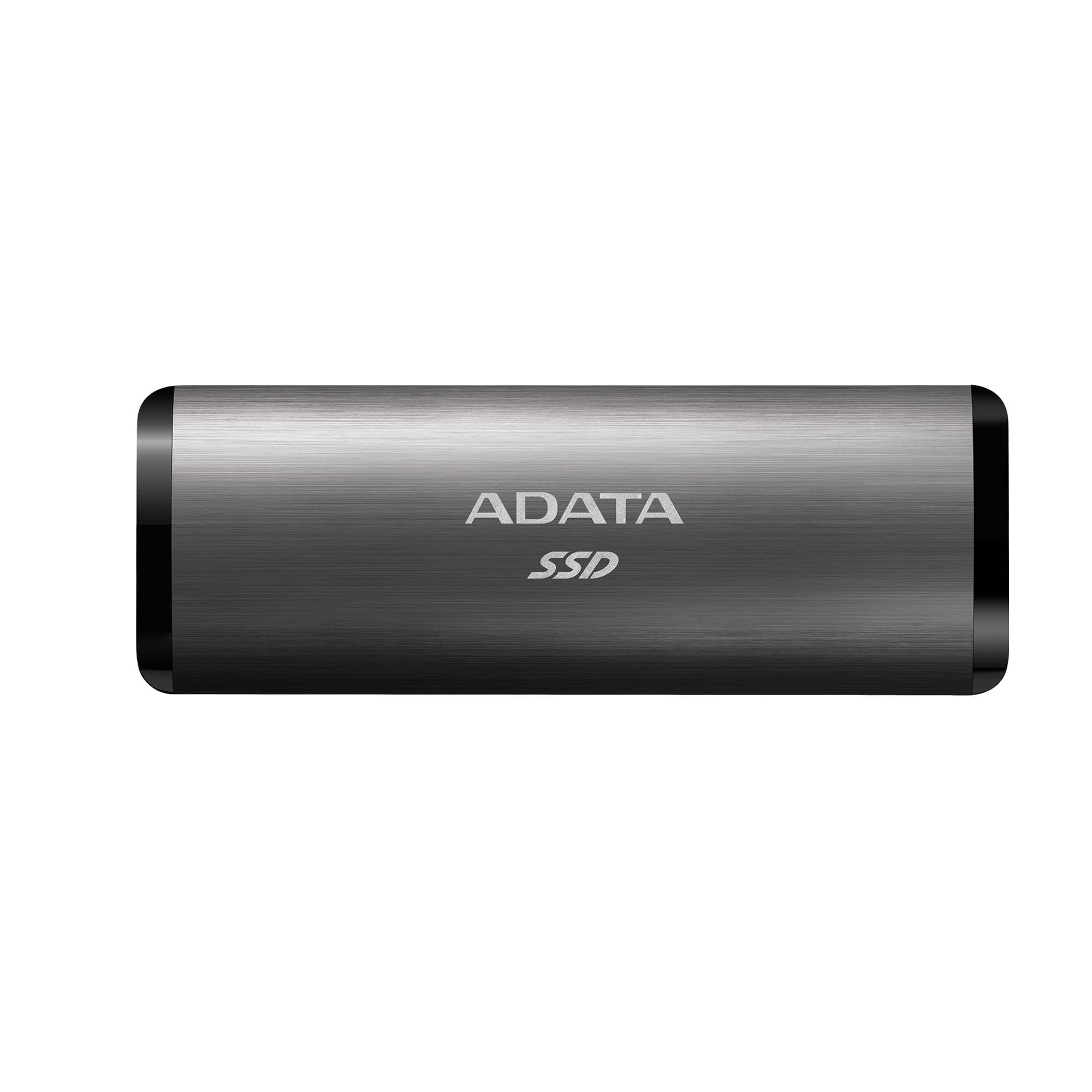 Внешний SSD накопитель ADATA SE760 512GB Silver