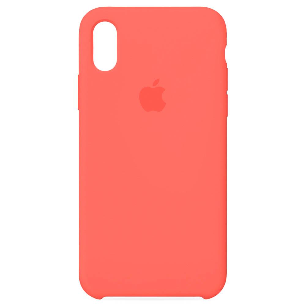 Чехол Case-House для iPhone X/XS, Нектарин
