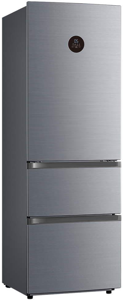 Холодильник Korting KNFF 61889 X Silver