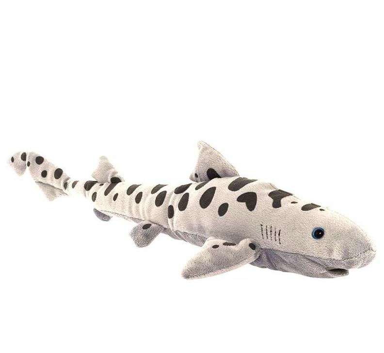 Купить Мягкая игрушка All About Nature Леопардовая акула, 25 см,