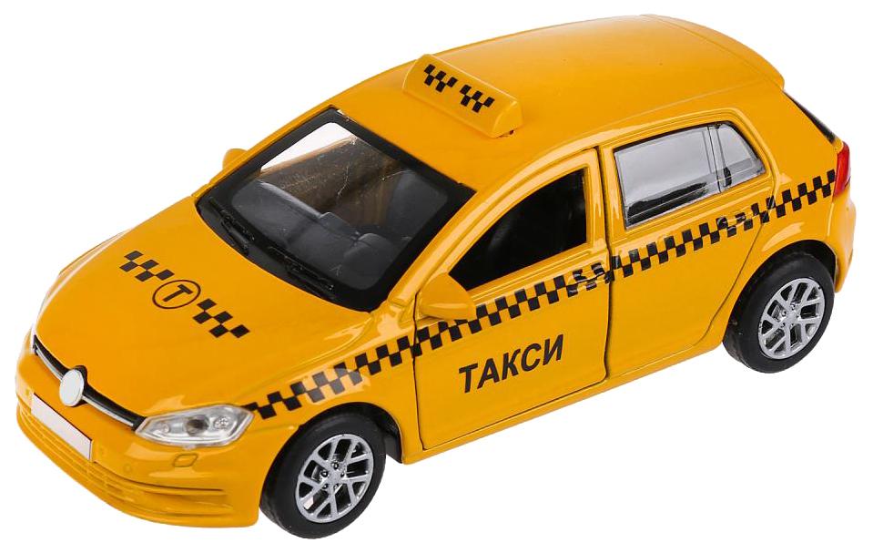Машина металлическая Технопарк Такси 12 см инерционная