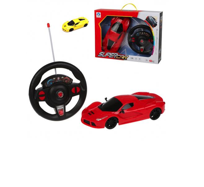 Купить Радиоуправляемая машинка Наша Игрушка 4 канала, 789-201B, красный, Наша игрушка,