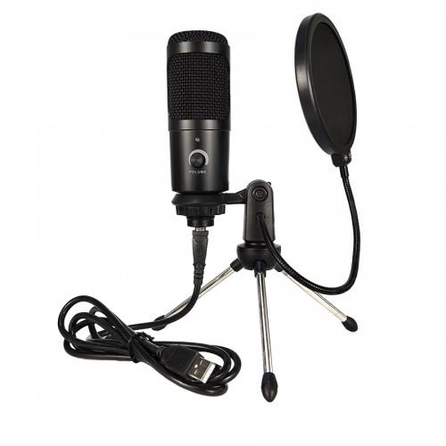 Конденсаторный USB микрофон YTOM M1 Pro с поп-фильтром