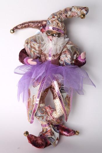 Мягкая игрушка Snowmen Новогодний клоун 31 см