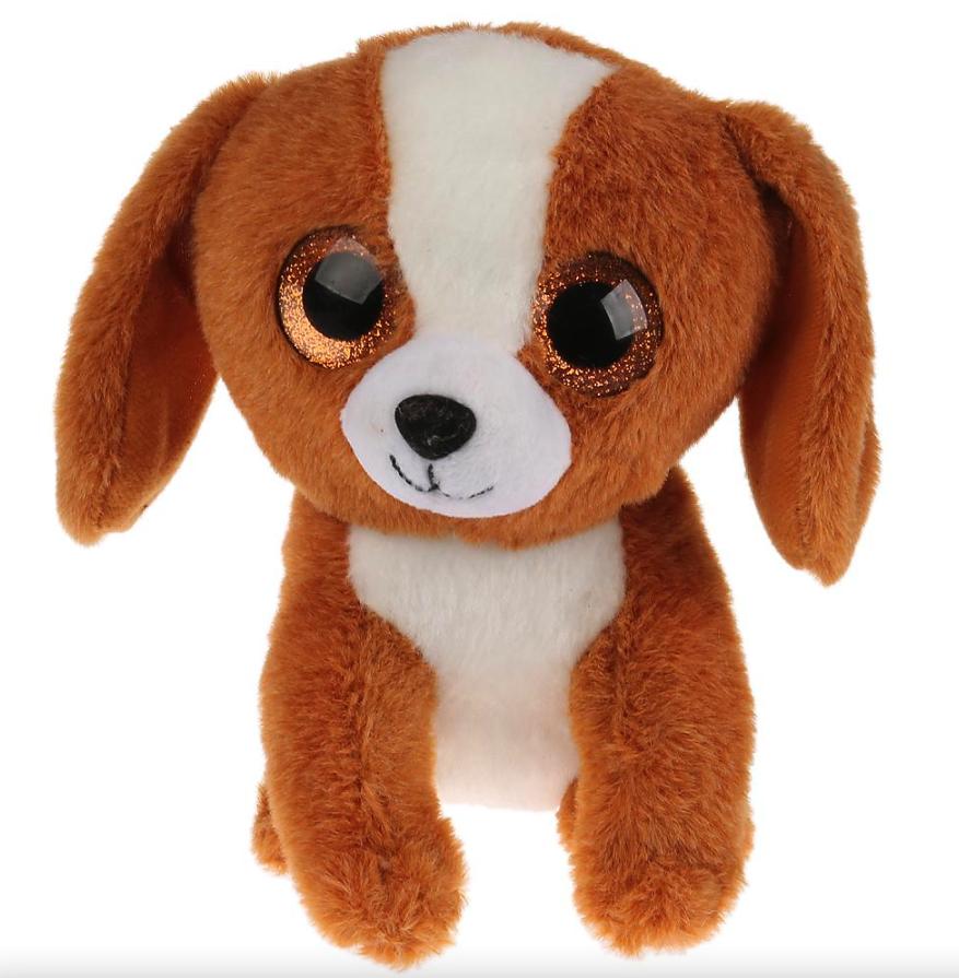 Мягкая игрушка Мульти-пульти Собачка бежевая, 15 см