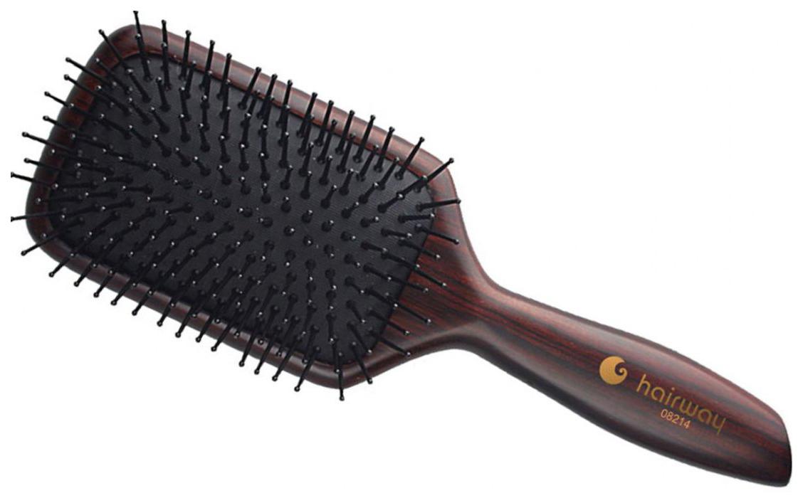 Купить Щетка массажная Hairway Professional Venge 11-рядная прямоугольная