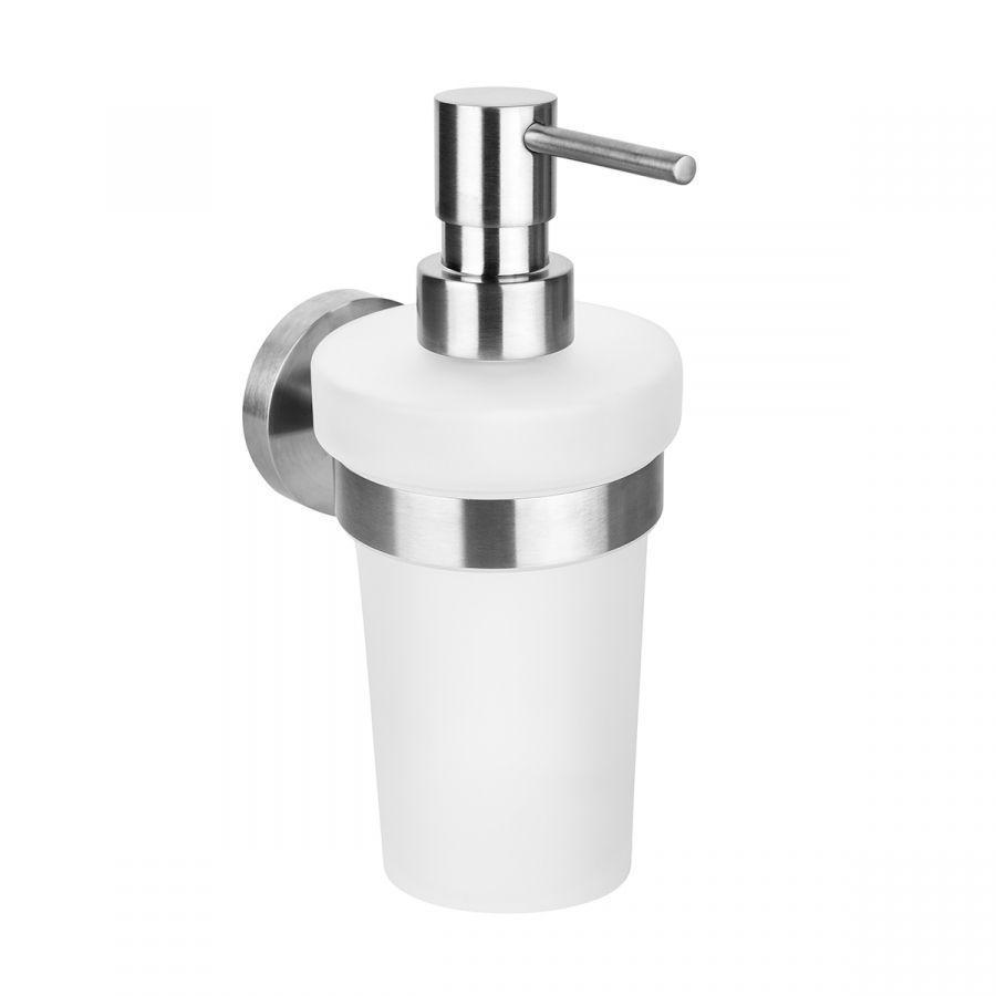 Настенный дозатор для жидкого мыла (стекло) Bemeta