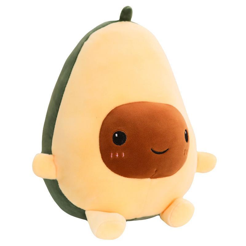 Мягкая игрушка Подарочек Авокадо велюр, 40 см