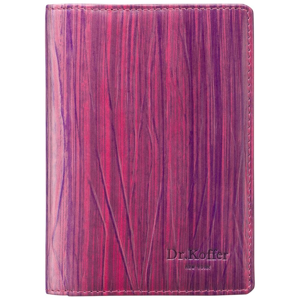 Обложка для автодокументов Dr.Koffer X510177-162 фиолетовая фото