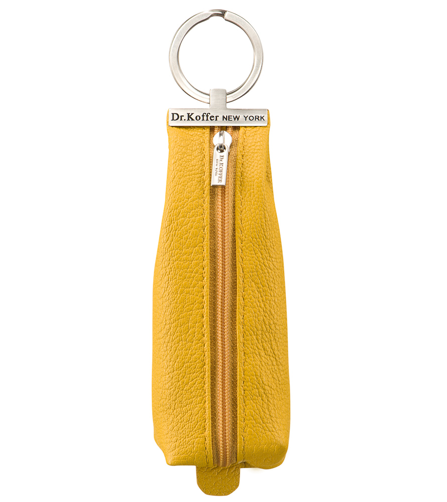 Ключница женская Dr.Koffer X510226-170 желтая фото