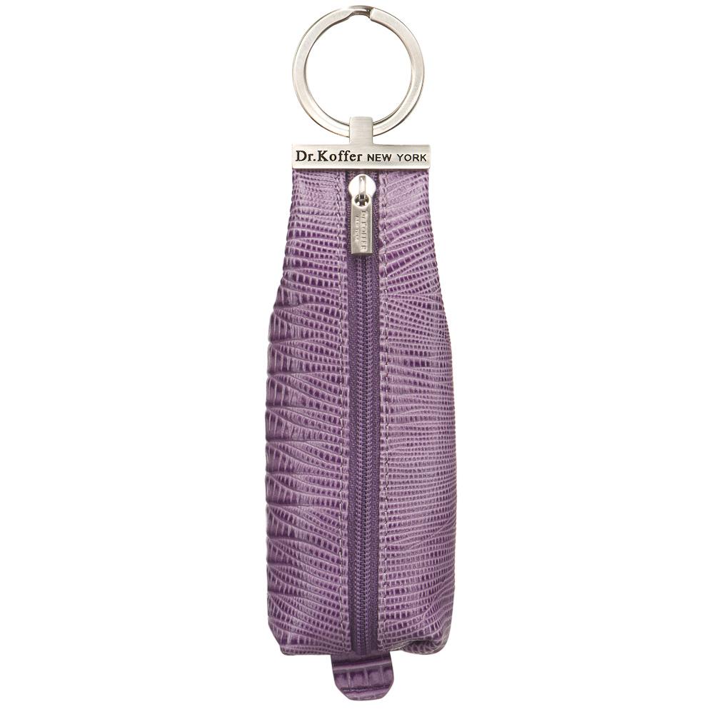 Ключница женская Dr.Koffer X510226-189 фиолетовая фото