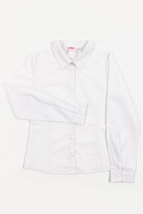 Рубашка MODIS для девочек, цв. белый,