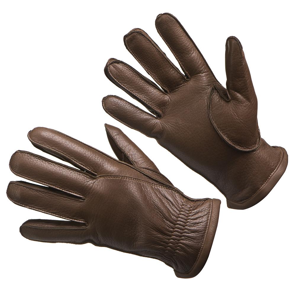 Перчатки мужские Dr.Koffer H740087-40 коричневые 9 фото