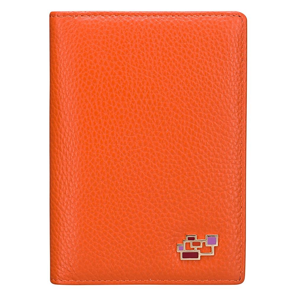 Обложка для автодокументов Dr.Koffer X510177-82-58A оранжевая фото