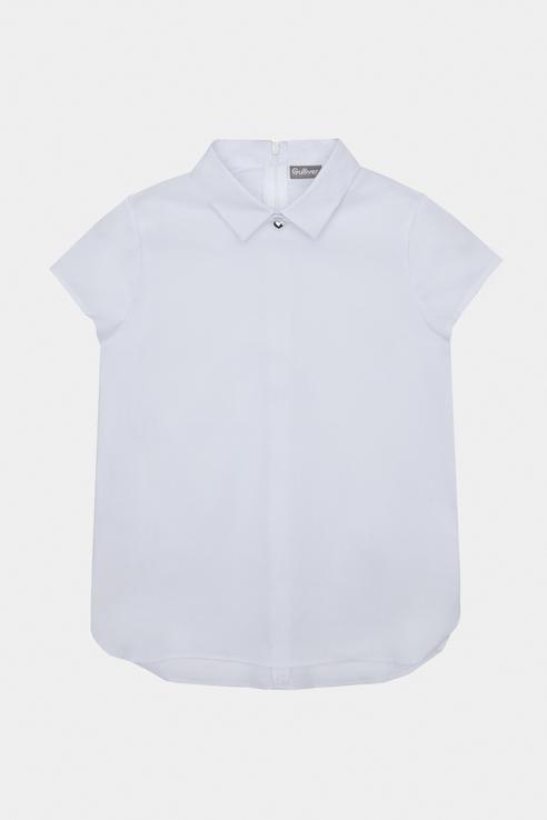 Купить 12193338_белый, Блузка Gulliver для девочек, цв. белый, р-р 140,
