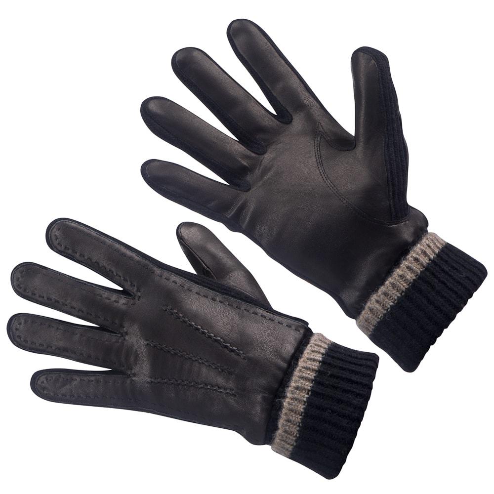 Перчатки мужские Dr.Koffer DRK-U19 черные 9,5 фото