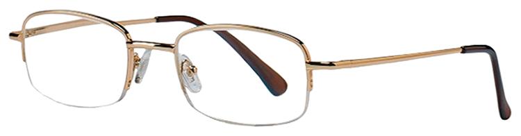 Очки корригирующие Кемнер Оптикс металл.полукруглые для чтения