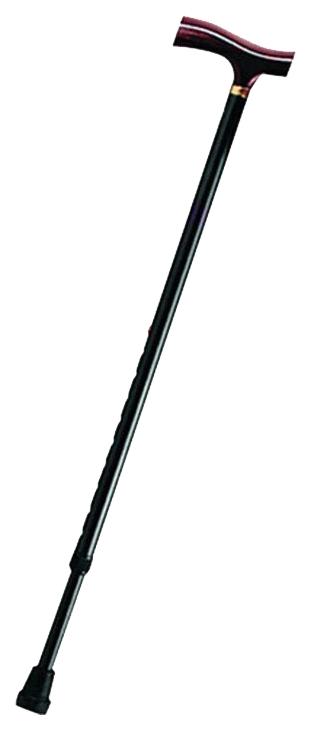 Купить Трость Брониген телескопическая деревянная рукоятка с УПС BOC-200 черный, Rehard Technologies
