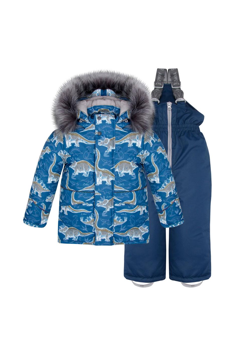 Комплект: куртка, брюки детский Zukka, цв. синий, р-р 116 фото