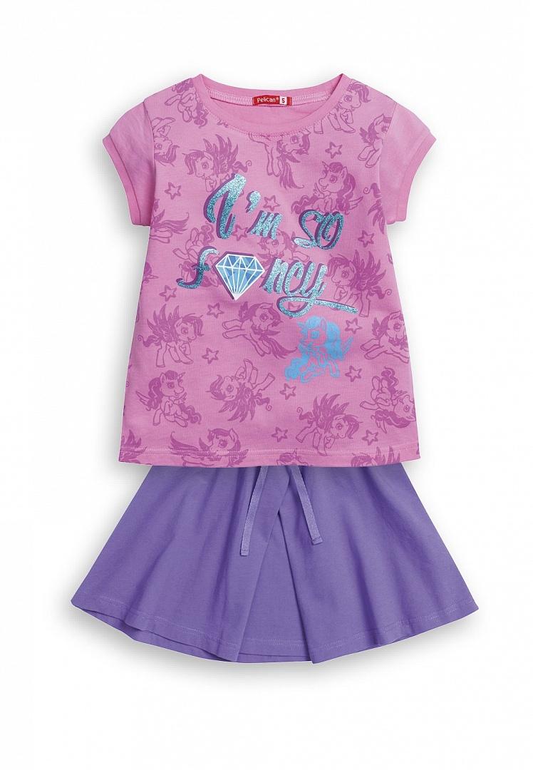 Комплект одежды Pelican, цв. розовый р.92