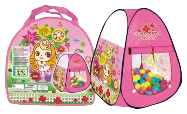 Палатка Наша Игрушка Цветочный рай сумка