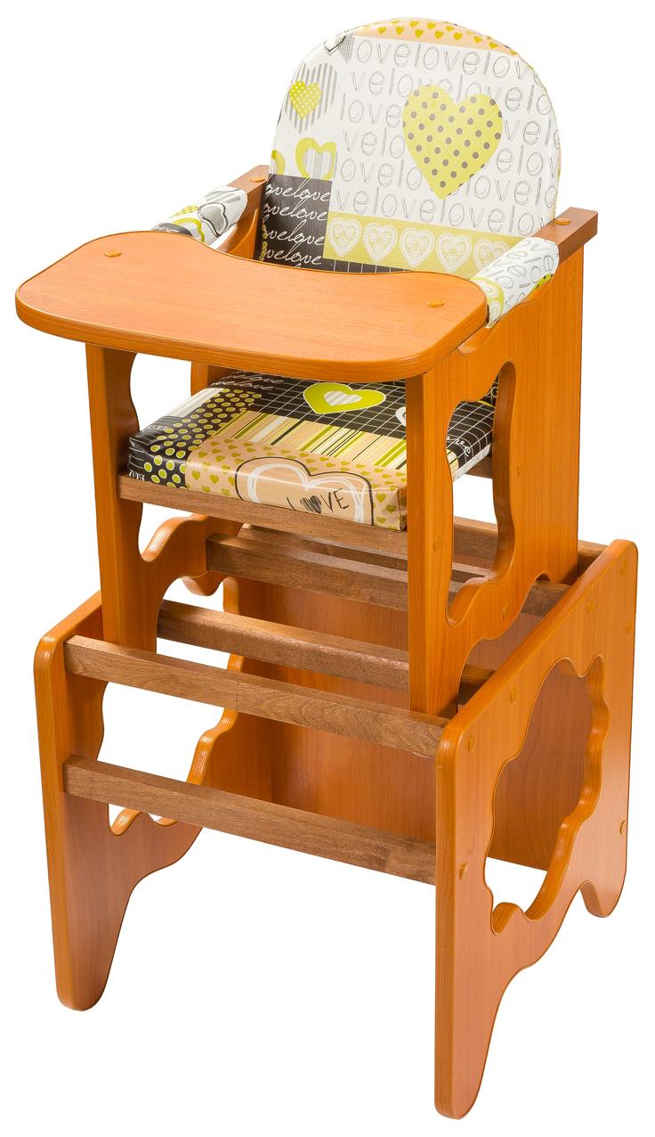 Стульчик для кормления ПМДК Премьер светлый орех