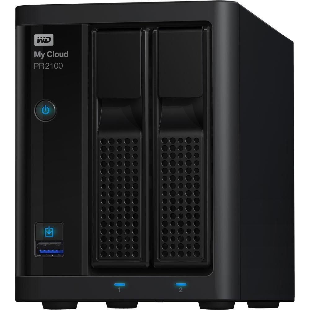 Сетевой накопитель (NAS) Western Digital 20Tb (WDBBCL0200JBK)