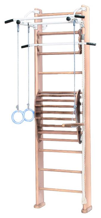 Купить Детский спортивный комплекс Karussell 2Д.03.03 + тренажер для осанки №2 светлый,