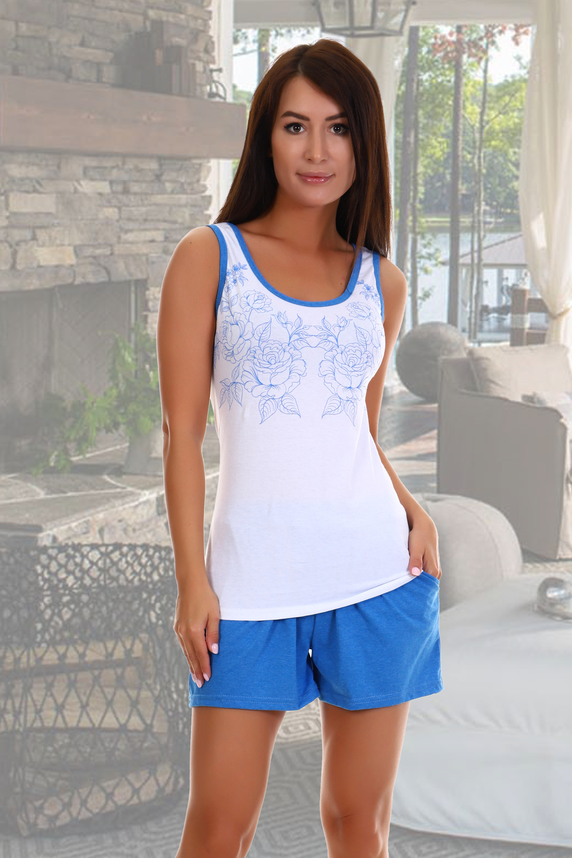 Домашний костюм женский КаВиТекс Ненси белый 44