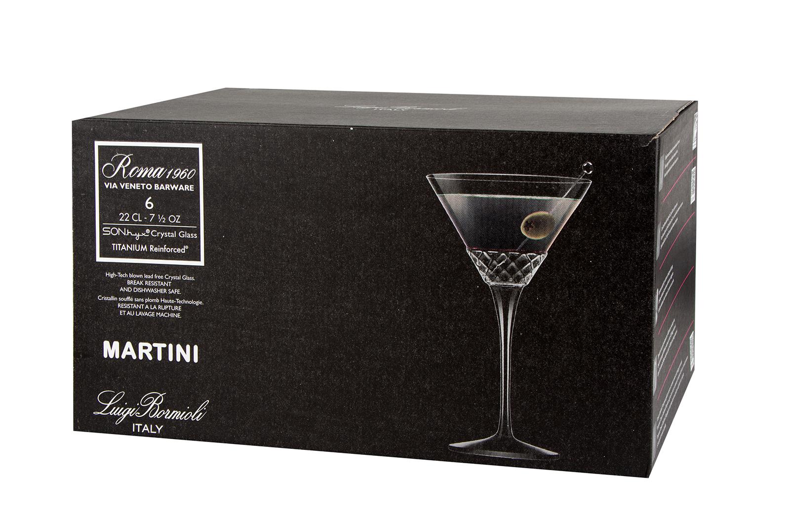 Набор бокалов для мартини ROMA 1960,
