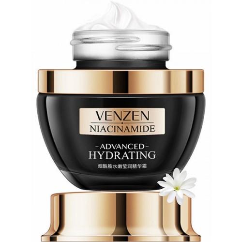 Купить Антивозрастной крем для лица с гиалуроновой кислотой и витамином Е, VENZEN 50 гр., 6941349-311461