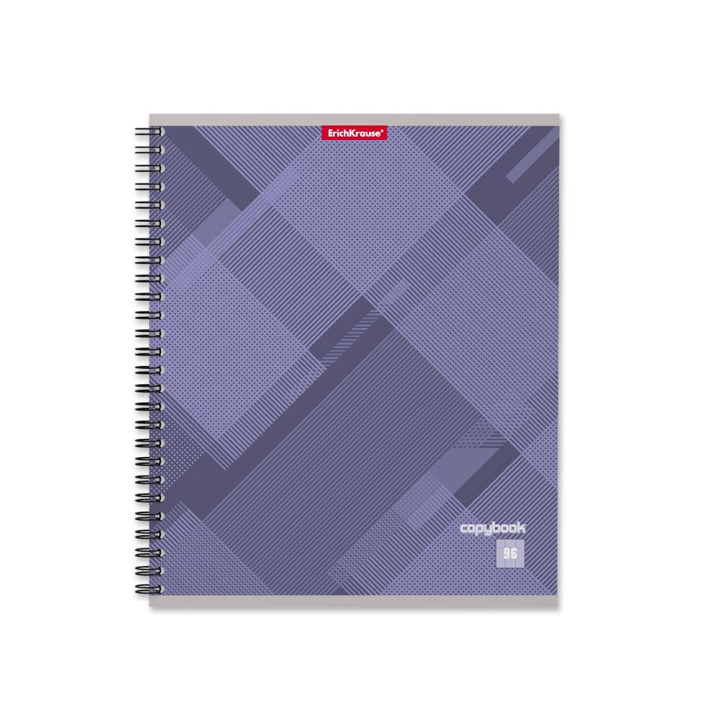 Тетрадь общая на спирали ErichKrause Soft Line, 96 листов, клетка