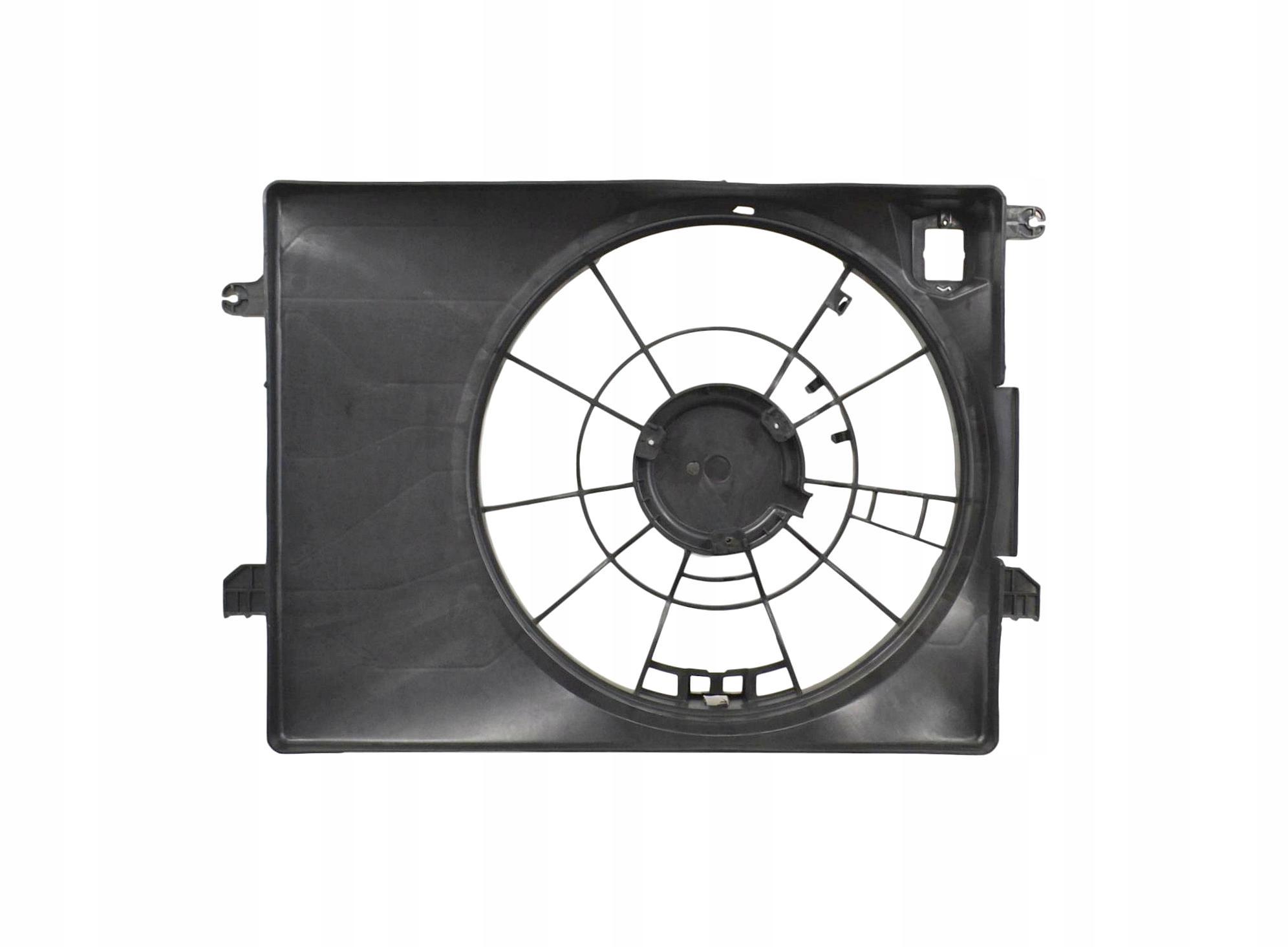 Передний диффузор для HYUNDAI ix35 5D 2010