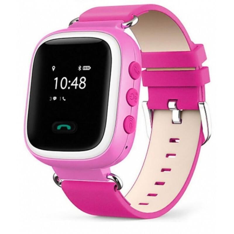 Умные часы Smart Watch Q60 с GPS розовый