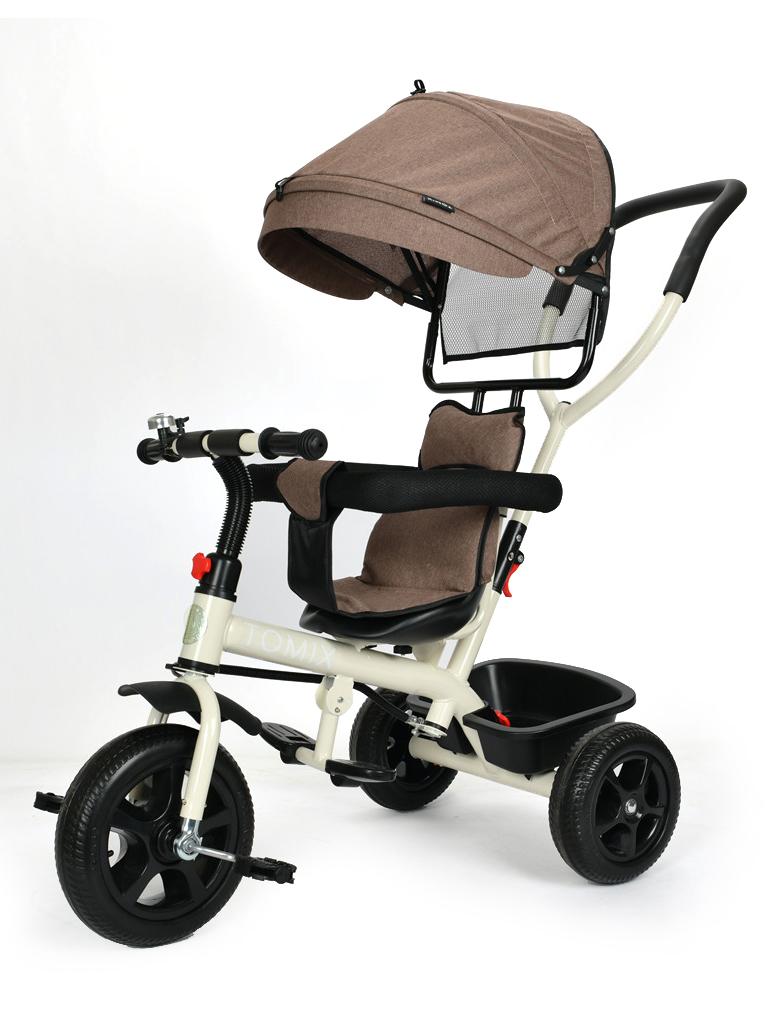 Купить Велосипед трехколесный TOMIX BABY TRIKE, бежевый 180-4/Brown,